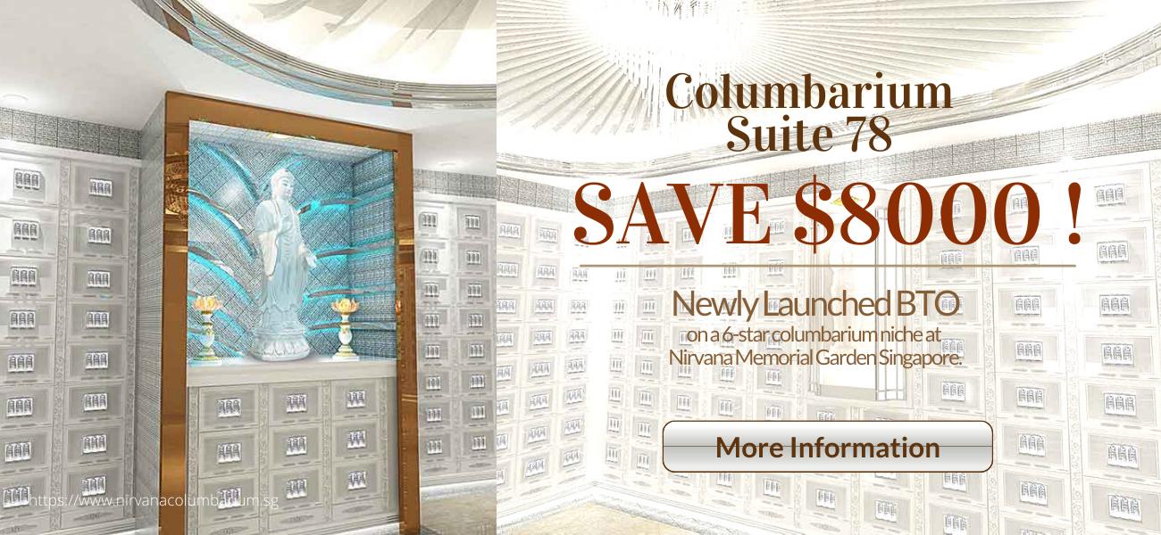 Nirvana Columbarium Suite 78